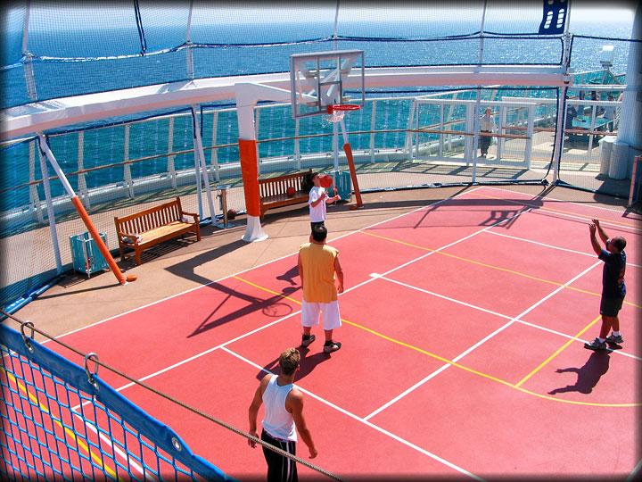 Royal Caribbean Cruise Basketball Court Photos