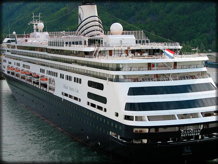 Jaddie Becky Sail Alaskas Inside Passage Juneau Page - Zaandam ship